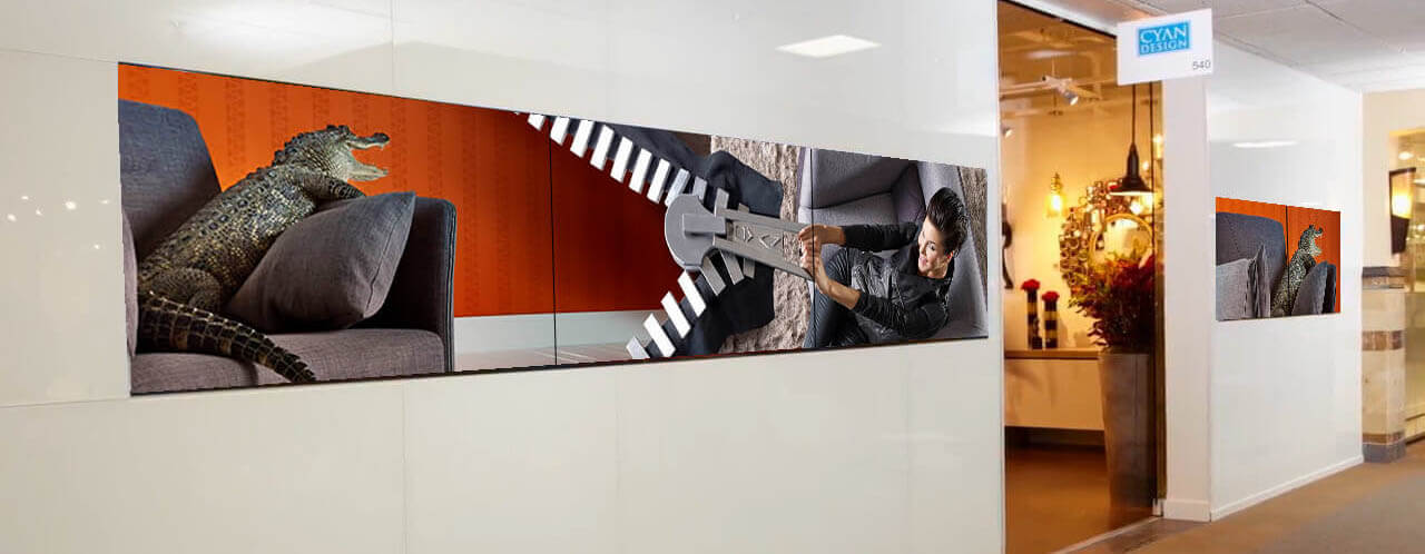 Video Walls, Trade Show