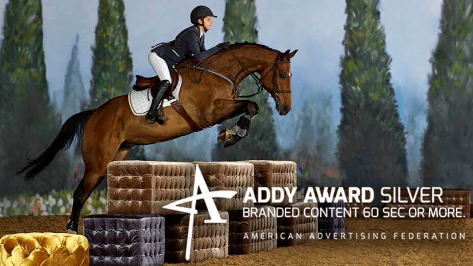 Horse Jumping Furniture, Addy Award